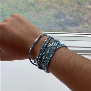 Slake Swarovski Crystal Wrap Bracelet